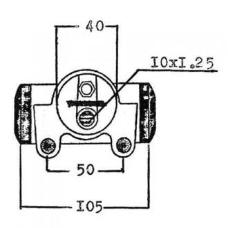 Cilindretto Freno | 372 - Diametro: 34.92 mm
