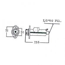 Pompa freno | 998 - produzione pompa - pompe freni per trattori Pompa freno | 997 - produzione pompa - pompe freni per carrelli elevatori